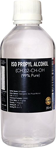 CERO NEW ISO PROPYL ALCOHOL 99% Pure [(CH3)2-CH-OH] CAS: 67-63-0 (240ml)