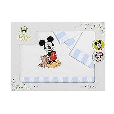 SABANALIA - Juego de sábanas para cuna Mickey (Disponible en varias medidas)