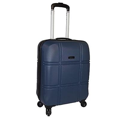 Cabin Max Turin ABS Hard Shell Cabin suitcase 4 wheel luggage (Dark Granite)