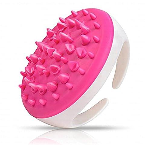 Beauté Top NEUF à main levée de bain douche Brosse de massage complet du corps anti cellulite minceur Beauté