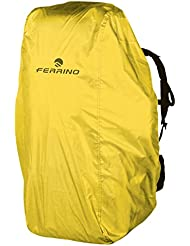 Ferrino - Waterproof Backpack Cover, color yellow, talla 25-50 Liters