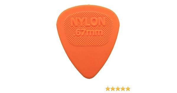 12 x Dunlop Nylon Midi Guitar Picks Plectrums 1.07mm Blue In A Handy Pick Tin