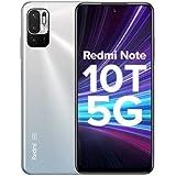Redmi Note 10T 5G (Chromium White, 6GB RAM, 128GB Storage) | Dual5G | 90Hz Adaptive Refresh Rate | MediaTek Dimensity 700 7nm