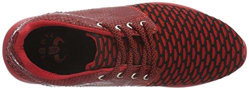 Tamboga - 1012, Scarpe da ginnastica Unisex – Adulto Rot (Red 02)