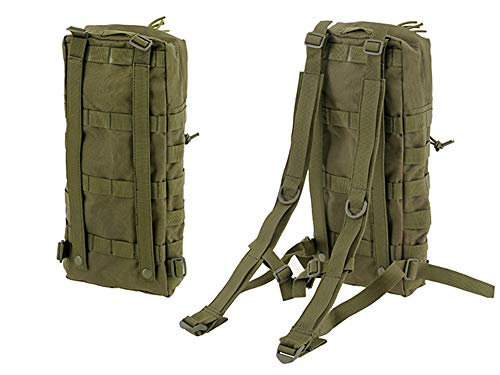Fields Tactical Rucksack Hydration Small Utility Molle Pack - Aqua Hydration Pack