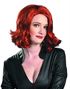 D-guisez The Avengers Black Widow Perruque - Adulte - One-Size