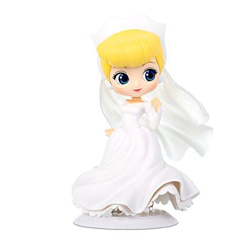 Figur Sammlung Aschenputtel 14cm - Weißes Hochzeitskleid - Cinderella - Serie QPOSKET Banpresto...