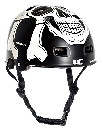 AWE Meet Your Maker BMX Casque Noir...