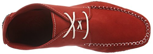 Sole Runner - Chenoa, Mocassini Unisex - Adulto Rosso (Red)