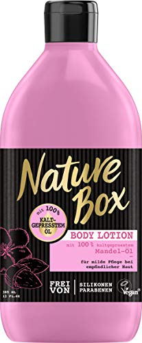 Nature Box Body Lotion Mandel-Öl, 3er Pack (3 x 385 ml)
