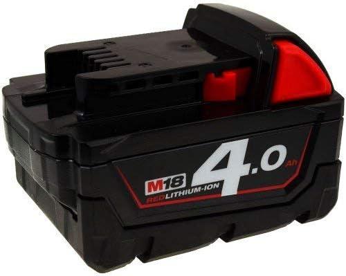 POWERY Batteria per avvitatore angolare ad ad ad impulsi Milwaukee M18 BRAID-0 4,0Ah originale | Qualità E Quantità Assicurata  | Molto apprezzato e ampiamente fidato dentro e fuori  | Di Progettazione Professionale  bff637