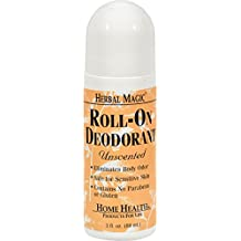 Home Health - Herbal Magic roll-on desodorante sin perfume - 3 oz.