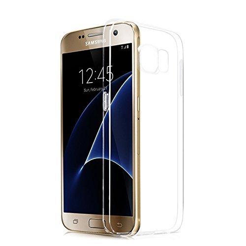 Lively Life Samsung Galaxy S6 Air-Cuscino Air-Custodia Slim trasparente in poliuretano termoplastico morbido, per angoli con Grainy assorbimento degli urti, realizzata in materiale ECO-Friendly, colore: trasparente, - Air-Cushion, Galaxy S6