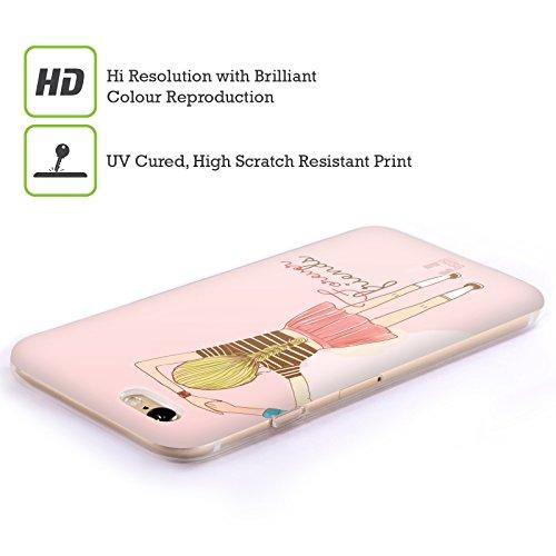 Head Case Designs Unbegrenztheitsstreifen Meine BFF Hüllen Soft Gel Hülle für Apple iPhone 6 / 6s Unbegrenztheitsstreifen