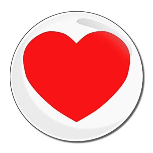 Heart - 55mm ronde de miroir compact