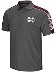 Mississippi State Bulldogs NCAA Southpaw Men's Performance Polo shirt Chemise - Charcoal