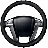 AutoSun Finger Grip Car Steering Cover Black (Tata Nano)