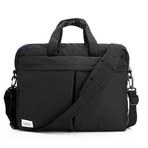 Laptop/Handtasche/Aktenmappe für Frauen, Notebook Computer Tablet Ärmel Laptop Tasche Messenger Griff Aktentasche Staubbeutel für Apple MacBook Pro/Air Series 2 Pink 33,8 cm (13,3 Zoll) Series 3 Black