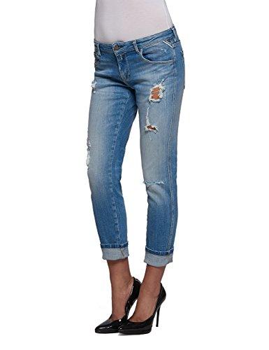 Replay Katewin, Jeans Femme Bleu (Blue Denim-17B947D-9)