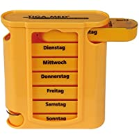 Medikamentendosierer orange Wochendispenser 1 Stück Pillendose Tablettenbox Pillenbox 7 Tage Original Tiga-Med... preisvergleich bei billige-tabletten.eu