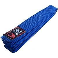 Taekwondogürtel de karaté bleu