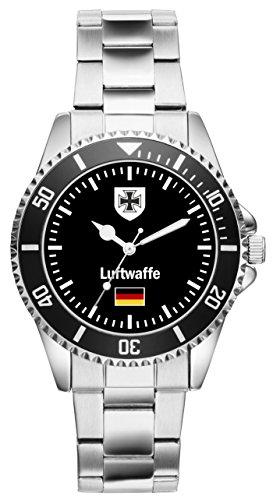 Soldat Geschenk Artikel Bundeswehr Luftwaffe Uhr 1030