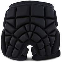Almohadilla protectora para el trasero, espesar la protección Cadera Pantalones para niños anticaída para niños Protección anticaída de seguridad para protección 3D para cadera, glúteos y cola,M
