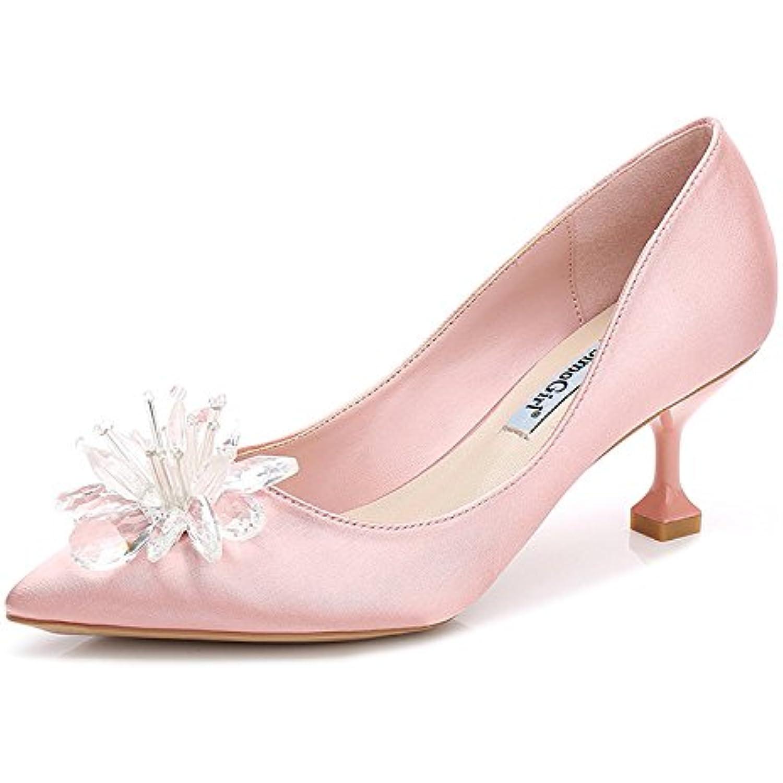 XimuLe Printemps Et l'été de Nouvelles  la s de la  Femme a souligné la Mode Sauvage Chaussures à Talons Hauts... - B07CWLCDZ5 - 714117