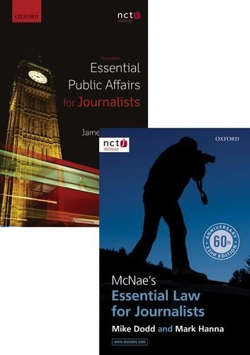 McNae's Essential Law for Journalists & Essential Public Affairs for Journalists Pack by Mark Hanna (2014-12-01)
