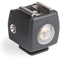 Kaiser Fototechnik 1503 - Zapata de conexión para flash esclavo, negro