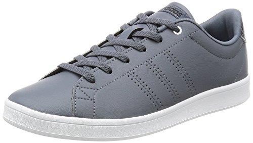 adidas Advantage Clean Qt, Scarpe da Ginnastica Donna Grigio (Onix/Onix/Msilve)