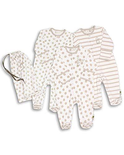 The Essential One - Pijama para bebé - Paquete de 3 - Primera Puesta ESS39