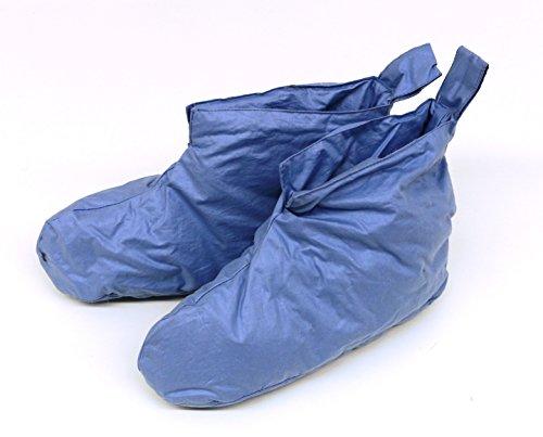 Kuschelwarme Daunenschuhe Bettschuhe Hausschuhe blau Gr. 1