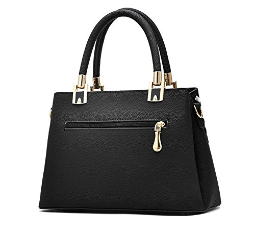 AILEESE  Zykly7726, Borsa Messenger  Donna Schwarz#1