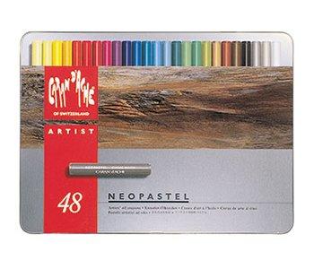 Caran d'Ache Neopastel Boîte de 48 pastels à l'huile