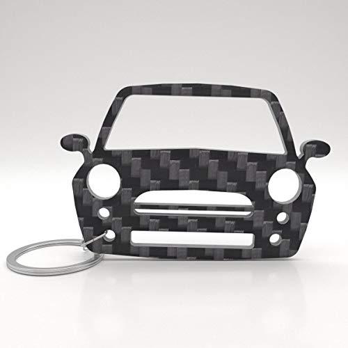 ACF Mini Schlüssel-Anhänger | echtes Carbon | Geschenk-Idee | Tuning | Mini Cooper R50