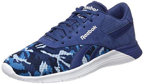 Reebok Mens Royal Ec Ride Gfx Scarpe Da Corsa Blu, Bianco (blu Notte / Blu, Blu Elettrico / Blu Scuro)