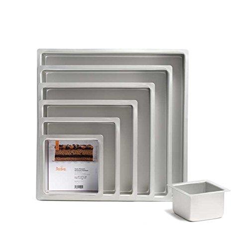 Bandeja de aluminio anodizado cuadrada 15x 15x 10h de primera calidad disponible también en otros tamaños y Acquistabile incluso a kit de 7teglie la medida 1040x 40x 10A medida a petición de un precio asequible