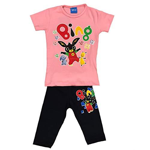 92b3a84222a8 -Bing Completo T-Shirt con Leggins Corti Mis. 3 4 5 6 7 Anni Primavera  Estate 2019