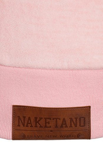 Naketano Female Zipped Jacket Redefreiheit? IV Rose Melange