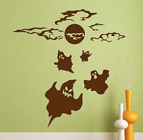 Halloween Wall Decal Aufkleber Ghost Halloween Decoration Aufkleber Wall Art Decor Wohnkultur Ghost Decal 57 * 60cm