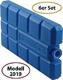 wns-emg-world Premium [6er Set] Kühlakkus Kühlelemente für die Kühltasche Kühlbox jeweils 200ml Modell 2019