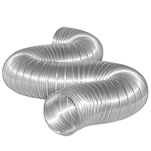 XtremeAuto® Aluminium Flexi -Ducting for AIR VENT, COLD AIR FEED (40mm x 3 Meters)