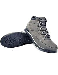 Botas De Invierno para Hombre CáLido Botas De Nieve con Cordones Botines CóModos Calzado Informal Zapatillas