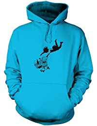 Banksy Shop Till You Drop Unisex Hoodie