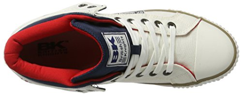 British Knights Roco, Sneakers basses homme Weiß (off white/navy/red)