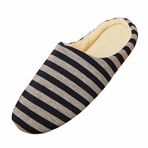 Bestoyard pantofole invernali ciabatte calde peluche morbido interno antiscivolo pantofole per uomo e donna