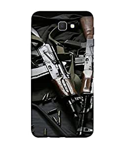 PrintVisa Designer Back Case Cover for Samsung On7 (2016) New Edition For 2017 :: Samsung Galaxy On 5 (2017) (Rifles Weapons Ammunition Bullets)