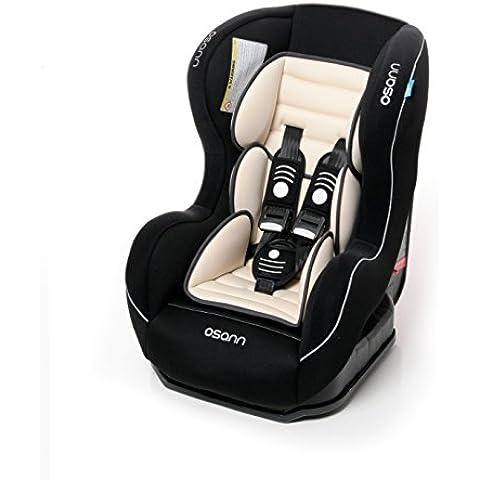 Osann Asiento Infantil para coche safetyone, (0–18kg), ECE Grupo 0/1, de 0a 4años aprox., reboard hasta 10kg.