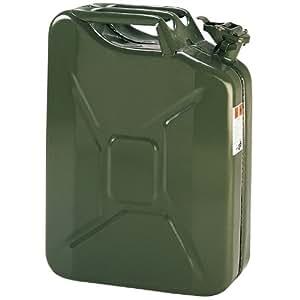 Cartrend 66200 Bidon à essence métallique 20 l (Vert)